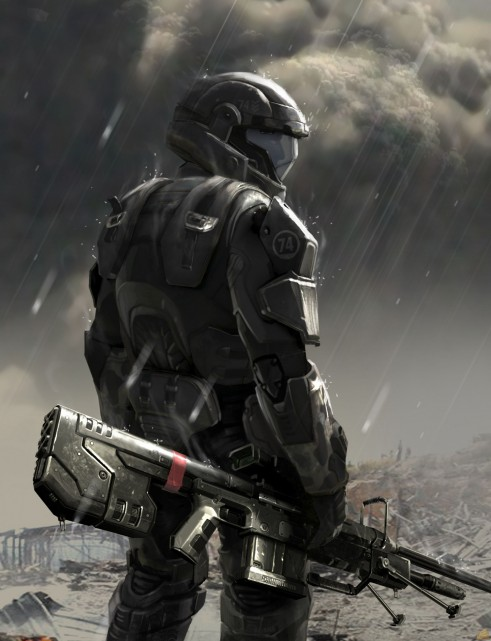 Halo Odst Concepart