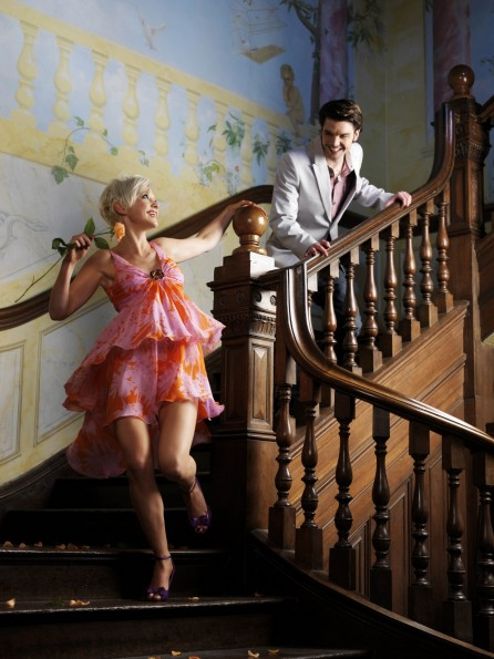 Bigger Photo Andrew Lee Potts And Hannah Spearritt And Andrew Lee Potts