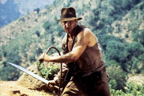 Harrison Ford Temple Of Doom Body
