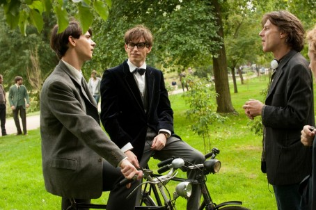 Still Of Harry Lloyd James Marsh And Eddie Redmayne In The Theory Of Everything Large Picture Movies