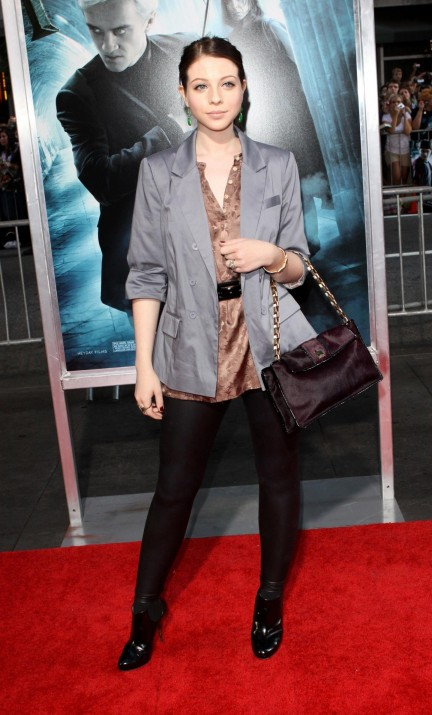 Michelle Trachtenberg Harry Potter And The Half Blood Prince New York Premiere Hq New Movie