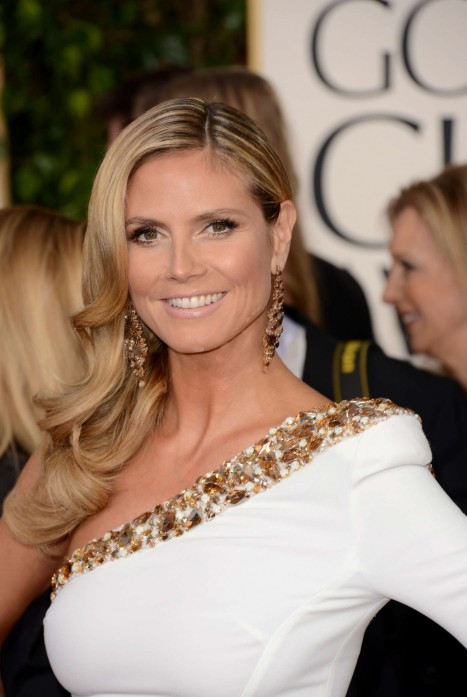 Heidi Klum Golden Globe Awards