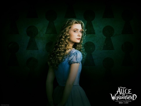 Alice In Wonderland Mia Wasikowska Johnny Depp Helena Bonham Carter Movies