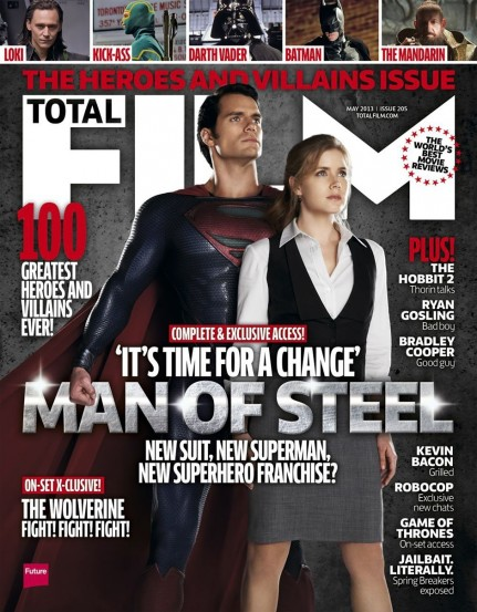 Henry Cavill And Amy Adams On The Cover Of Total Film Films
