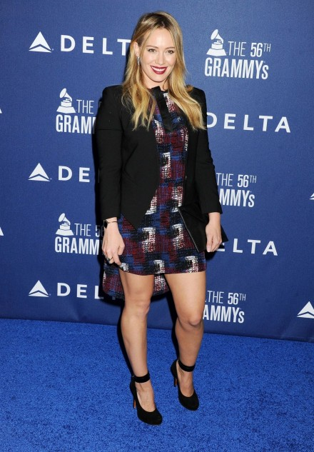 Hilary Duff At Delta Air Lines Grammy Weekend Reception In Los Angeles