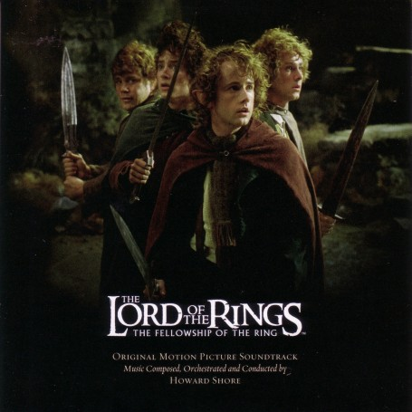 Howard Shore The Lord Of The Rings The Fellowship Of The Ring Soundtrack Front Lord Of The Rings