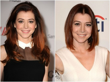 Alyson Hannigan Bob Long Fashion