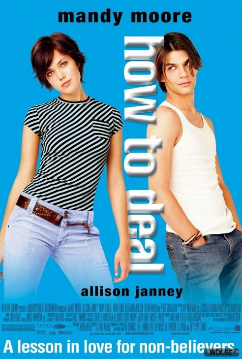 How To Deal Movie Poster Mandy Moore Movie