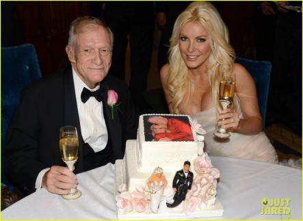 Hugh Hefner Crystal Harris Wedding Pictures Revealed Wife
