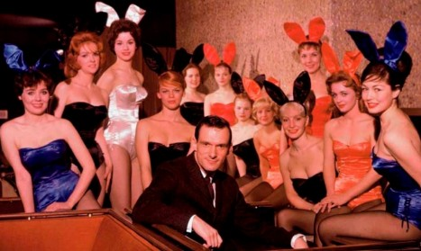 Hugh Hefner Playboy Activist And Rebel