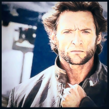 Nlc Dessins Hugh Jackman Film The Wolverine Nlc Films