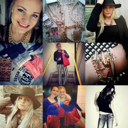 Village Fashionista Instagram Collage Fashion