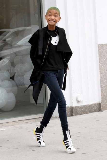 Willow Smith Shows Her Style Willow Smith