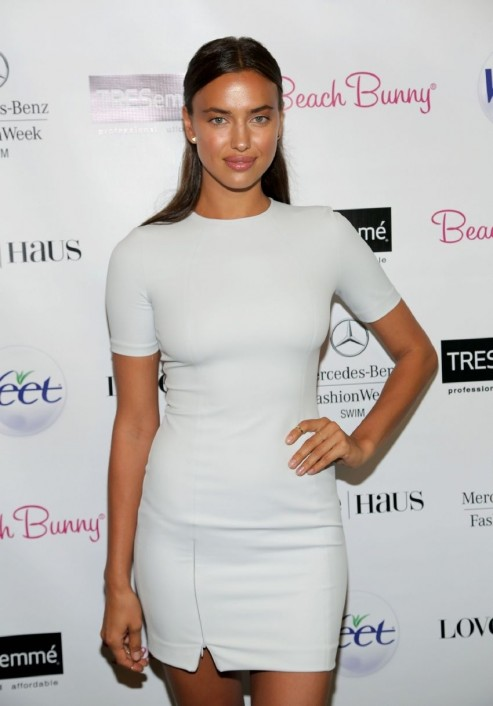 Irina Shayk Beach Bunny Fashion Show In Miami Beach