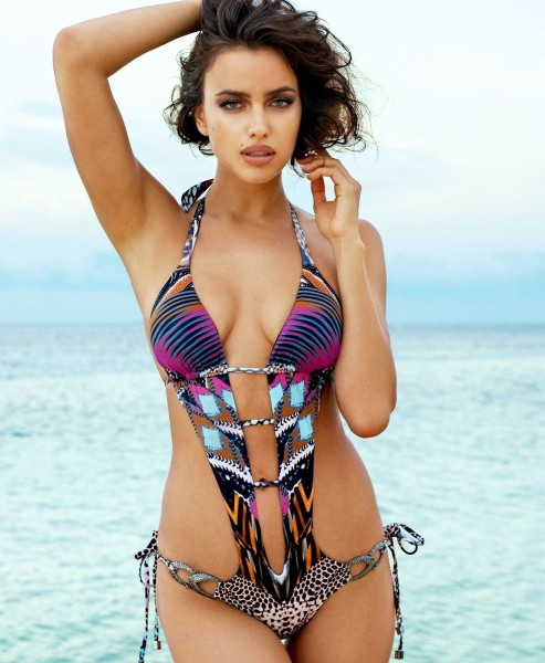 Irina Shayk Beach Bunny Hotness Cute Beach