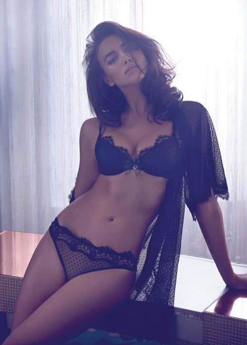 Irina Shayk Twin Set Fall Campaign Photos