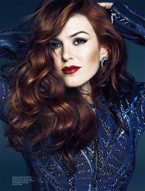 Isla Fisher Feature Fashion Mag May Body