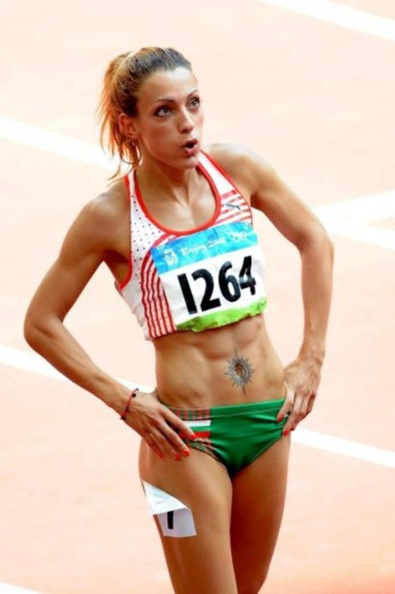Ivet Lalova Fittest Bodies In Sports Hottest Olympic Women