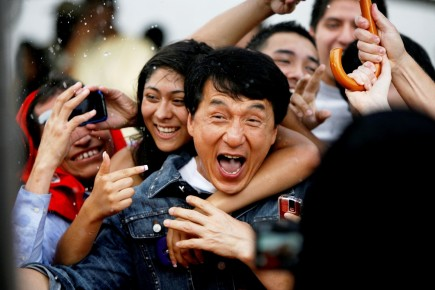Men Male Celebrity Jackie Chan And His Fans