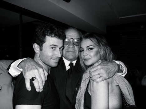 Lindsay Lohan James Deen Photographed By Gavin Doyle At The Canyons Wrap Party Lindsay Lohan