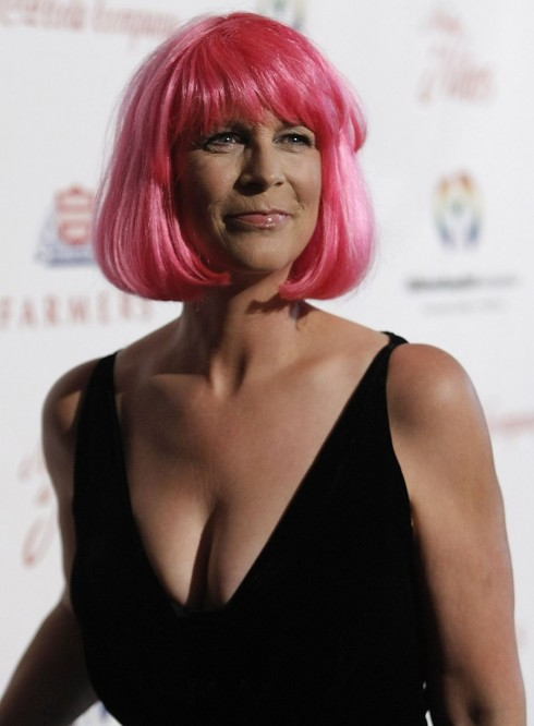 Jamie Lee Curtis Noche De Ninos Gala In Beverly Hills Lo
