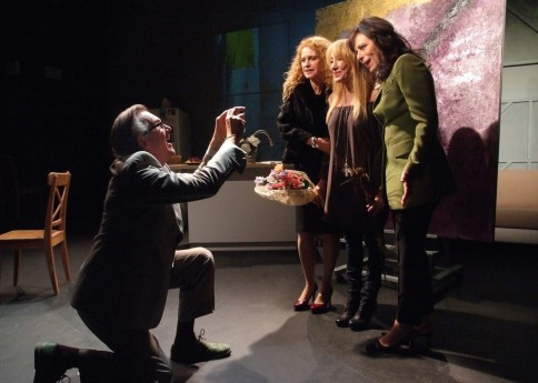 James Lancaster Sharon Sharth Diane Cary And Jane Kaczmarek In The Snake Can At The Odyssey Theatre Movies