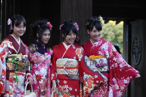 Coming Of Age Day Beautiful Japanese Girls