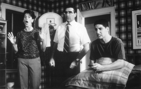 Still Of Jason Biggs Molly Cheek And Eugene Levy In Placinta Americana Large Picture American Pie