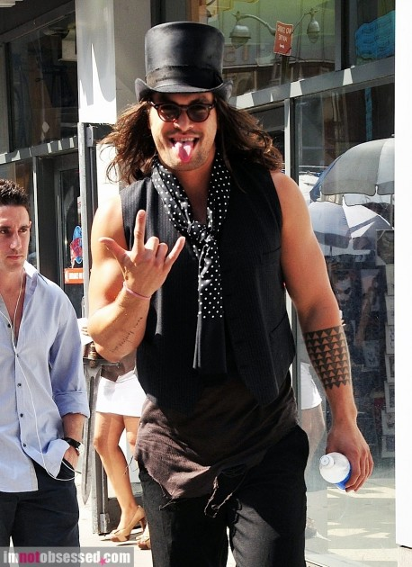Jason Momoa Out In Nyc Hot