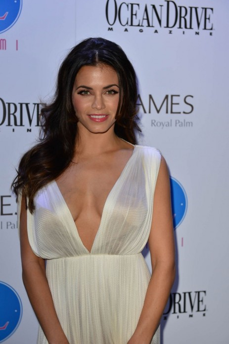 Jenna Dewan Tatum At Ocean Drive Magazine St Anniversary Issue Party In Miami