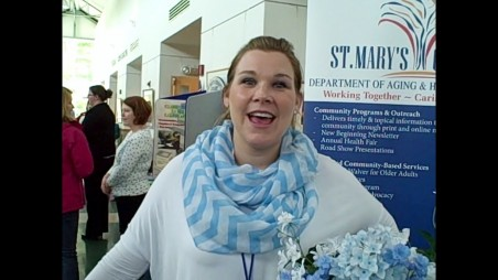 Jennifer Stone Of St Marys Office On Aging At Three Oaks Stand Down For Veterans