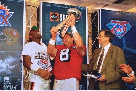 Steve Young Jerry Rice Pg Jr