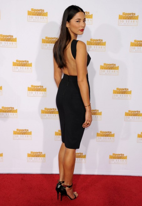 Jessica Gomes At Si Swimsuit Issue Th Anniversary Celebration In Hollywood Background