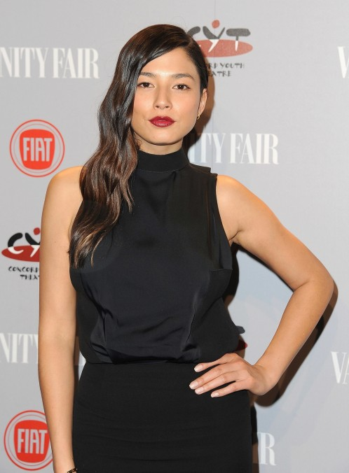 Jessica Gomes Rocked Black Hair
