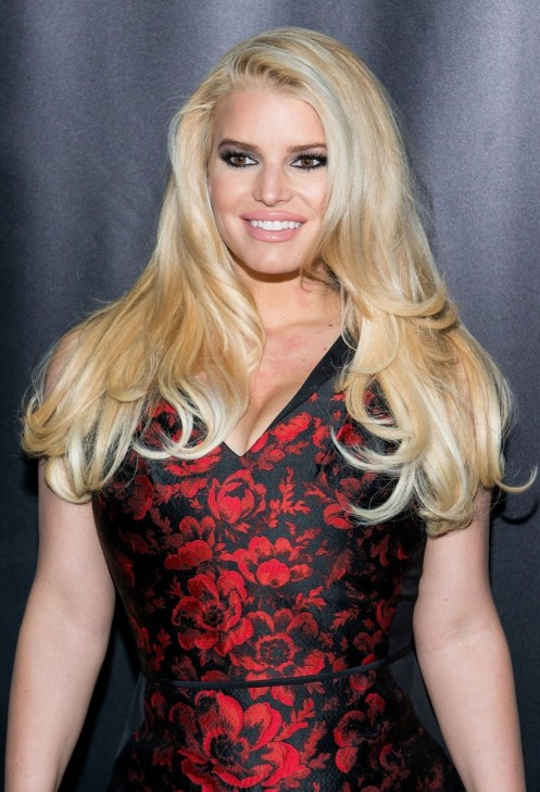 Jessica Simpson At Th Annual Footwear News Achievement Awards In Ny