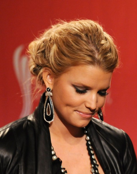 Jessicasimpson Th Annual Cma Nominations Vettrinet Music