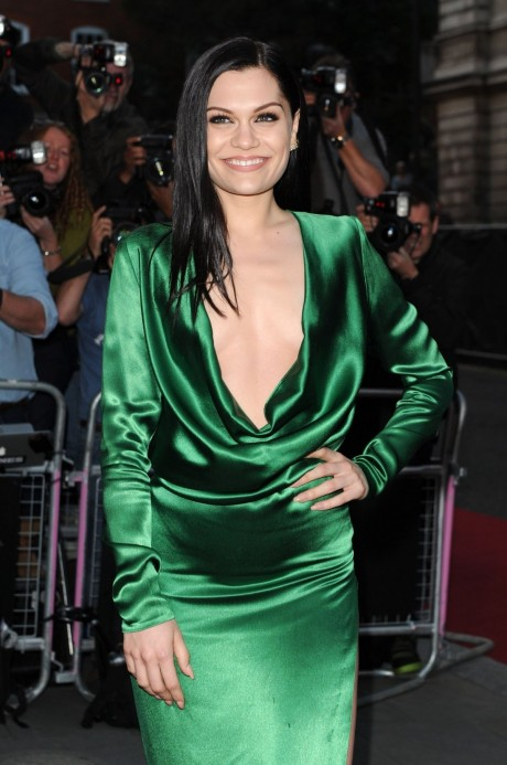 Jessie J At Gq Men Of The Year Awards In London