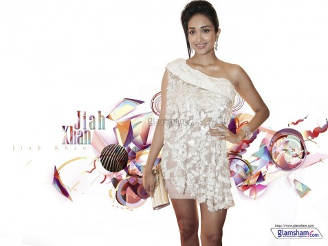 Jiah Khan Wallpaper
