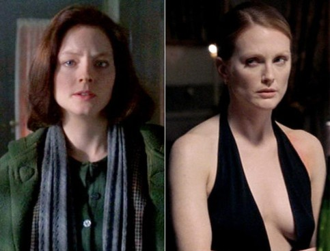 Jodie Foster Julianne Moore Clarice Starling Silence Of The Lambs