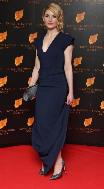 Jodie Whittaker At Rts Program Awards At Governor House In London