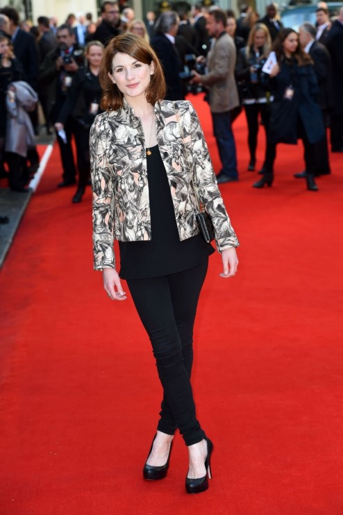 Jodie Whittaker At The Uk Premiere Of The Two Faces Of January In London