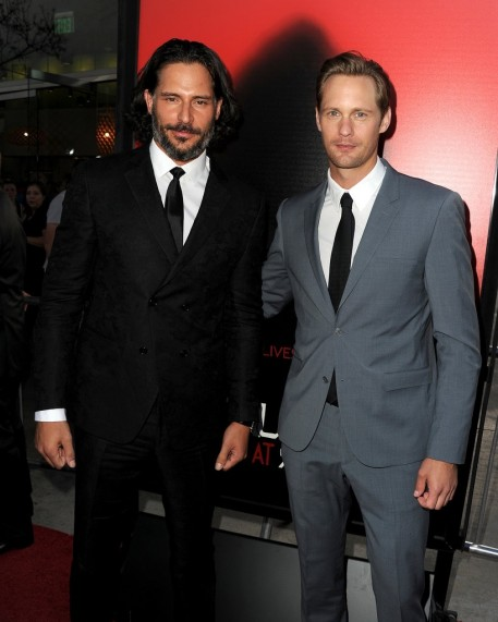 Joe Manganiello Alexander Skarsgard Linked Up True Blood Spiderman