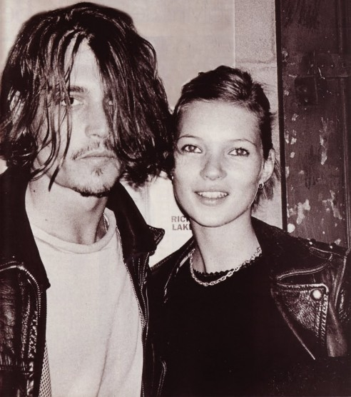 Throwback Johnny Depp Kate Moss Young