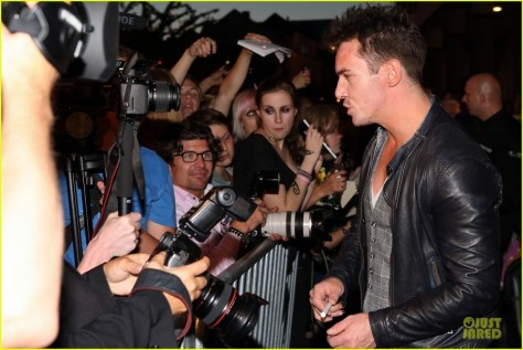 Lily Collins Jonathan Rhys Meyers City Of Bones Norway Premiere Movies