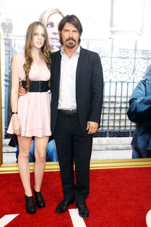 Josh Brolin Step Daughter Walk The Red Carpet