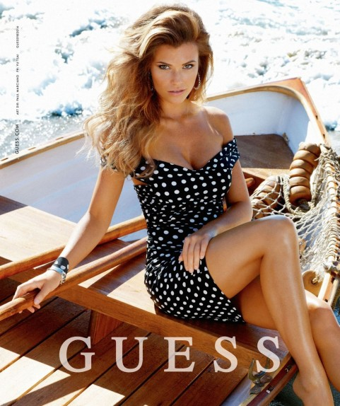 Jourdan Miller At Guess Ad Campaign Instagram