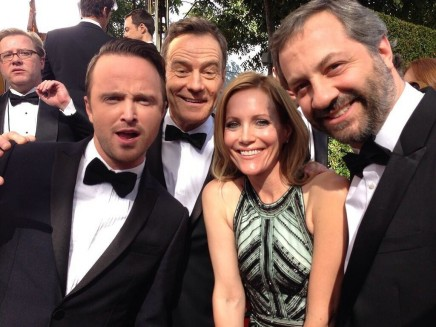 Leslie Mann Judd Apatow Shared Moment Bryan Cranston