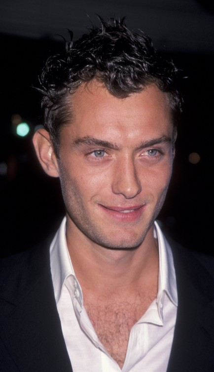 Ageless Jude Law Young