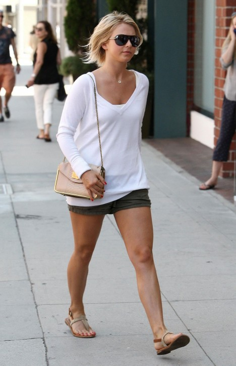 Julianne Hough In Shorts Out And About In Los Angeles Movies