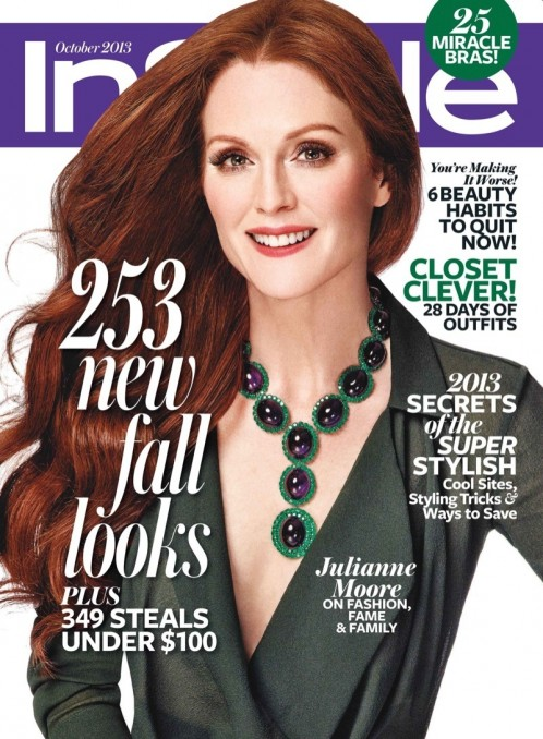Julianne Moore Instyle Cover No Makeup